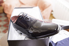 Shoe husband Stock Images