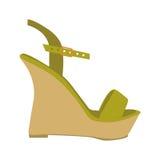 Shoe icon image Royalty Free Stock Photos