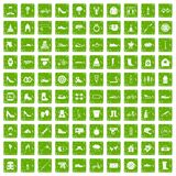 100 shoe icons set grunge green. 100 shoe icons set in grunge style green color isolated on white background vector illustration vector illustration
