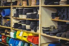 Shoe insole in shelf Stock Image