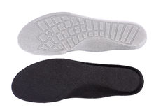 Shoe insoles Stock Photo
