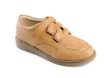 Shoe isolated on white Royalty Free Stock Photo