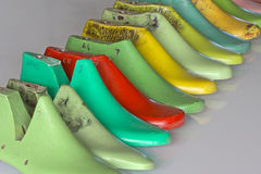 Shoe lasts Royalty Free Stock Photography