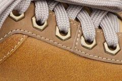 Shoe macro Royalty Free Stock Images