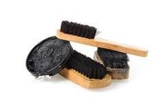 Shoe maintenance set Royalty Free Stock Photos