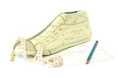 Shoe maker pattern design Royalty Free Stock Photo