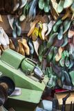 Shoe making Stock Photography