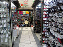 Shoe Market Royalty Free Stock Photo