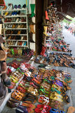 Shoe Market. Hundreds of shoes for sale in Hoi An Shoe market, Vietnam, Asia Royalty Free Stock Images
