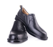 Shoe. men's fashion shoe on a background Royalty Free Stock Photos