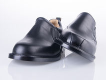 Shoe. men's fashion shoe on a background Royalty Free Stock Image
