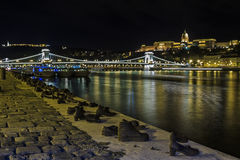 Shoe Monment River Danube Budapest Stock Image
