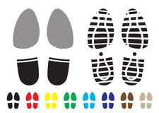 Shoe pattern Stock Photo