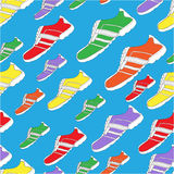 Shoe Pattern / Print Royalty Free Stock Photography