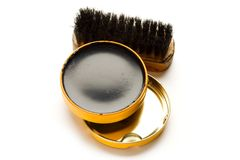 Shoe polish Royalty Free Stock Image