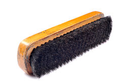 Shoe polish brush Stock Photos