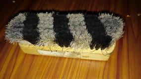Shoe polish brush stock photography