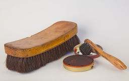 Shoe Polish Equipment Royalty Free Stock Images