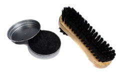 Shoe Polish Kit Royalty Free Stock Images