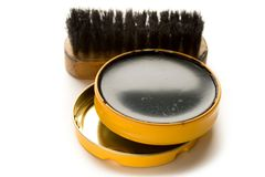 Shoe polish Stock Images