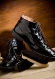 Shoe polishing tools Royalty Free Stock Photo