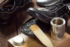 Shoe repair Stock Photography