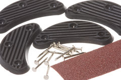 Shoe Repair Kit Macro Isolated Royalty Free Stock Photos