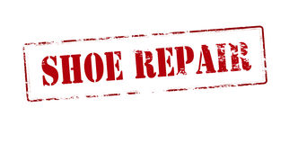 Shoe repair Stock Photography