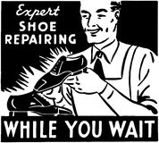 Shoe Repairing Royalty Free Stock Image