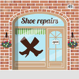 Shoe repairs service Royalty Free Stock Photo