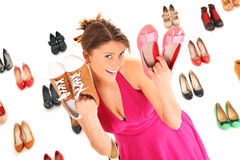 Shoe sale! Stock Photo