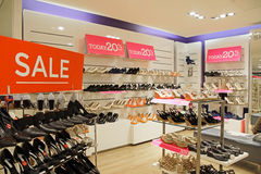 Shoe Sale day Royalty Free Stock Photos