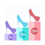 Shoe Sale Royalty Free Stock Image