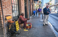 Shoe Shine in New Orleans Stock Photos