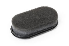 Shoe shine sponge Stock Image