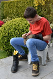 Shoe shine Royalty Free Stock Photography