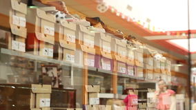 Shoe Shop stock video