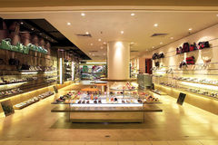 Shoe shop Royalty Free Stock Image