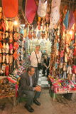 Shoe shop in Marrakesh Royalty Free Stock Photos