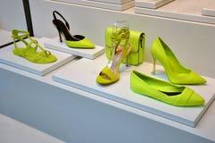 Shoe shop Stock Images