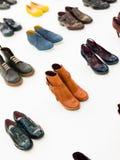 Shoe shopping Royalty Free Stock Photography