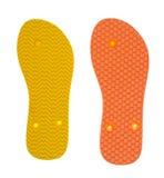 Shoe Sole Isolated on White Background. Stock Photos