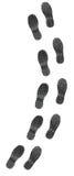 Shoe Soles. On Isolated White Background Royalty Free Stock Image
