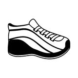 Shoe sport isolated icon Stock Photography
