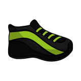 Shoe sport isolated icon Royalty Free Stock Photo