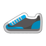 Shoe sport isolated icon Stock Image