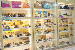 The shoe store Royalty Free Stock Photos