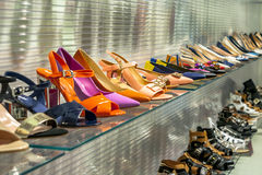 Shoe store Stock Photography