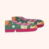 Shoe style theme elements vector,eps. Vector illustration file Stock Photo