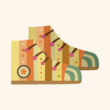 Shoe style theme elements vector,eps Stock Photo